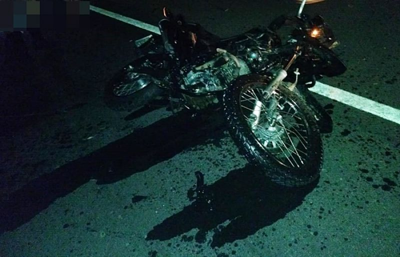 Motociclista morre em acidente na AMG-3085 próximo a Coronel Pacheco