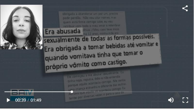 Jovem usa redes sociais para denunciar padrasto por tortura e estupro contra ela e a mãe na Bahia: 'Abortei várias vezes'