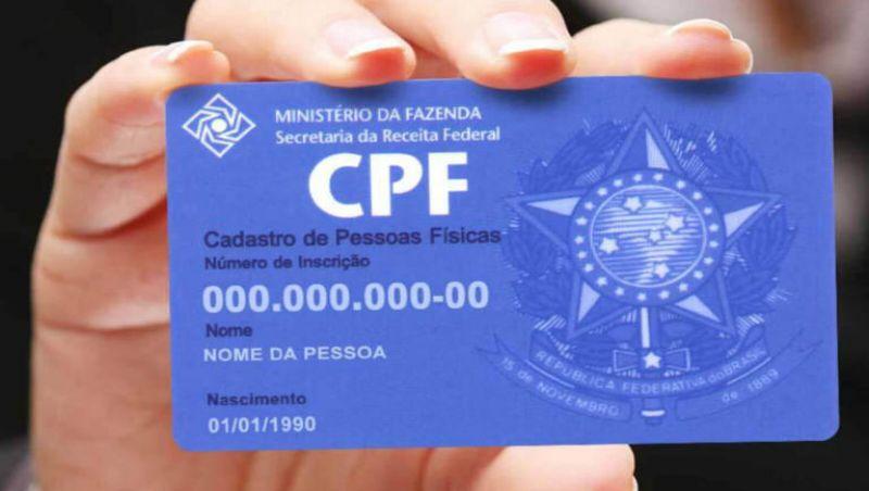 CPF pode ser obtido nas agências dos Correios
