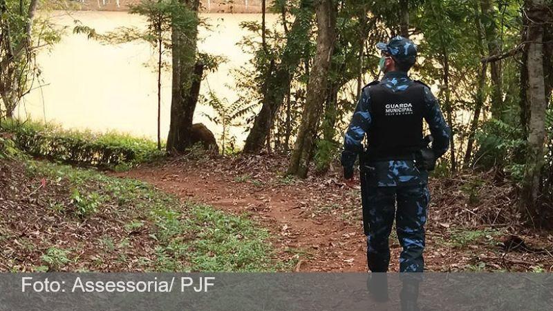 JF: Guarda Municipal apreende homem no Parque da lajinha