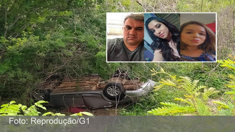 Carro de casal e estudante que viajavam do DF para o Ceará é encontrado com três corpos em penhasco na Bahia