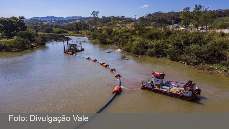 Estudo da UFRJ aponta melhora em rio afetado no desastre de Brumadinho