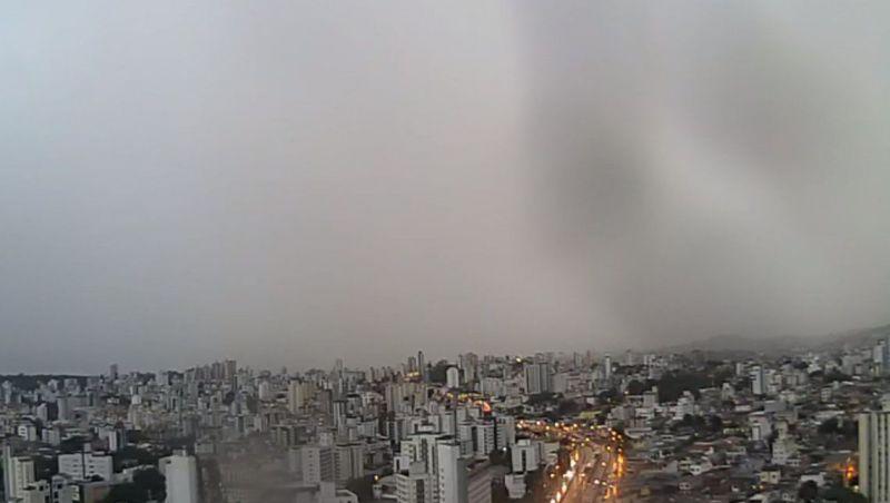 Defesa Civil prevê pancadas de chuva para Minas Gerais