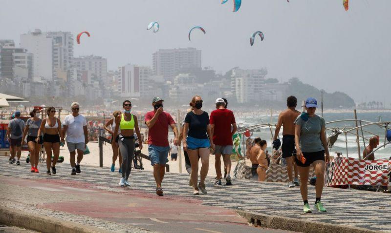 Após temperatura recorde, Rio tem previsão de vendaval e frente fria