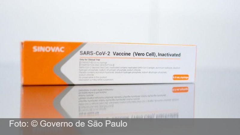 São Paulo vai receber 5 milhões de doses da CoronaVac em outubro