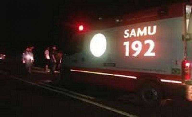 Acidente deixa pessoas feridas na BR-116 em Leopoldina