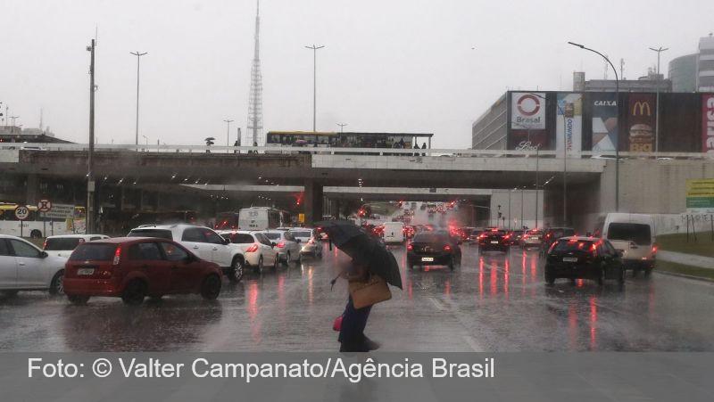 Previsão é de carnaval com chuva em quase todo o país