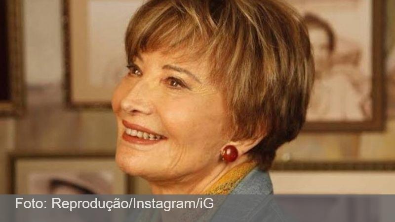 Glória Menezes sai do respirador nasal, mas não tem previsão de alta