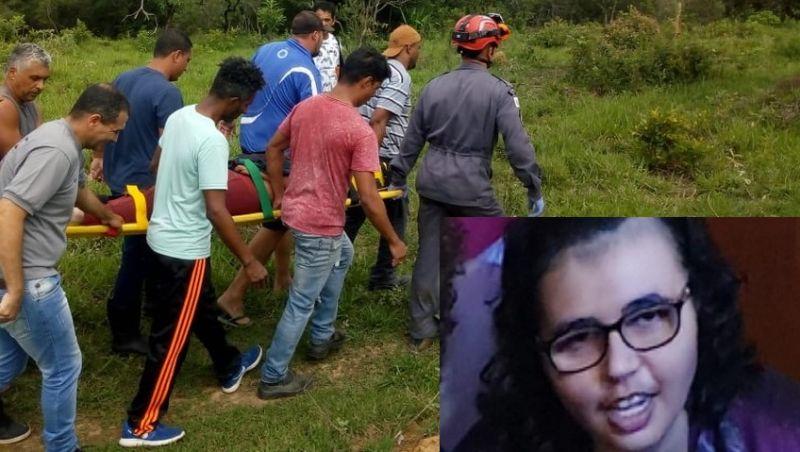 Jovem de Barbacena que estava desaparecida é encontrada com vida dentro de vala