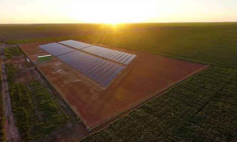 Minas ganha usina que armazena energia solar
