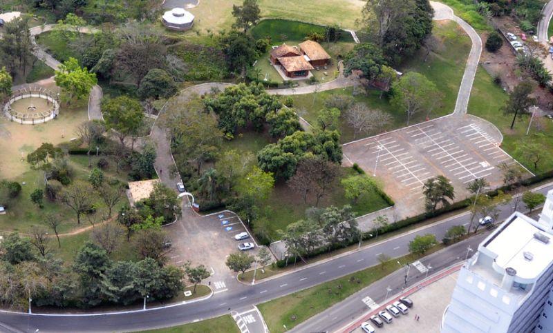 Obras de melhoria - Estacionamento do Parque da Lajinha em JF será fechado temporariamente