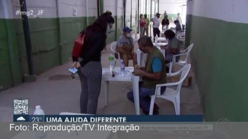 Voluntários se unem ajudar no combate à pandemia da Covid-19 em Juiz de Fora