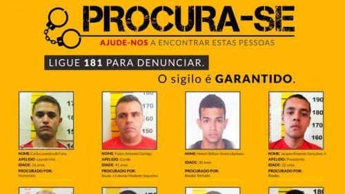 Veja a lista dos criminosos mais procurados de Minas Gerais