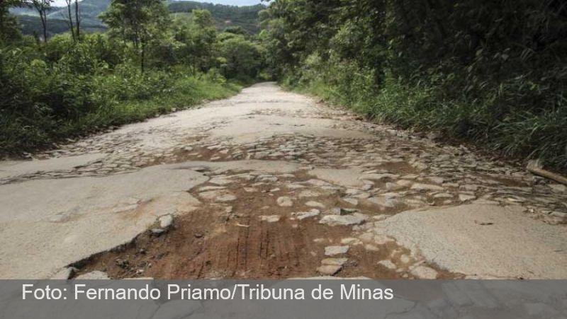 Convênio deve ampliar pavimentação da estrada de Ibitipoca