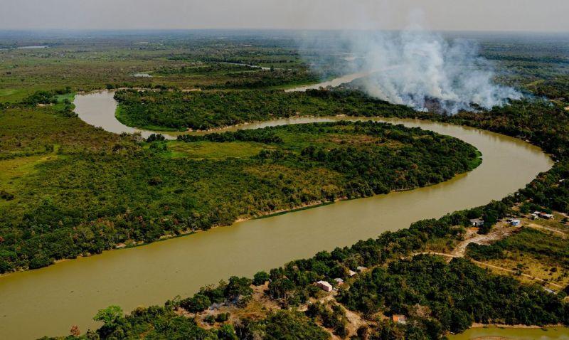 Tempo seco e calor favorecem novos focos de incêndio no Pantanal
