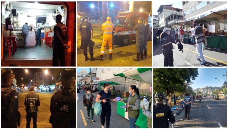 PJF intensifica ações de fiscalização e prevenção no fim de semana