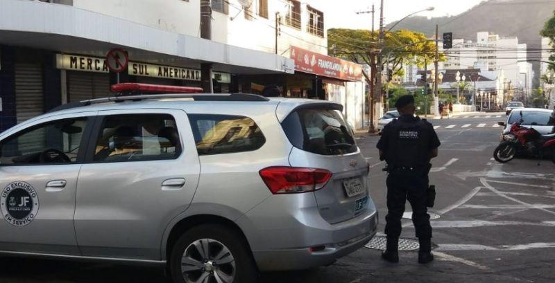 Guarda Municipal presta socorro à gestante no Centro de Juiz de Fora
