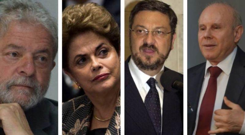 Vara Federal absolve ex-presidentes por crime de organização criminosa