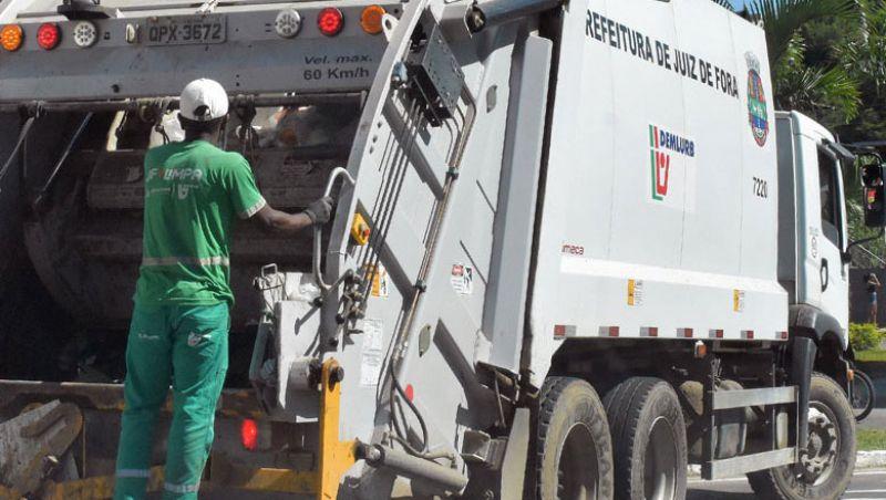 Coleta de lixo domiciliar não será realizada no feriado de sexta-feira