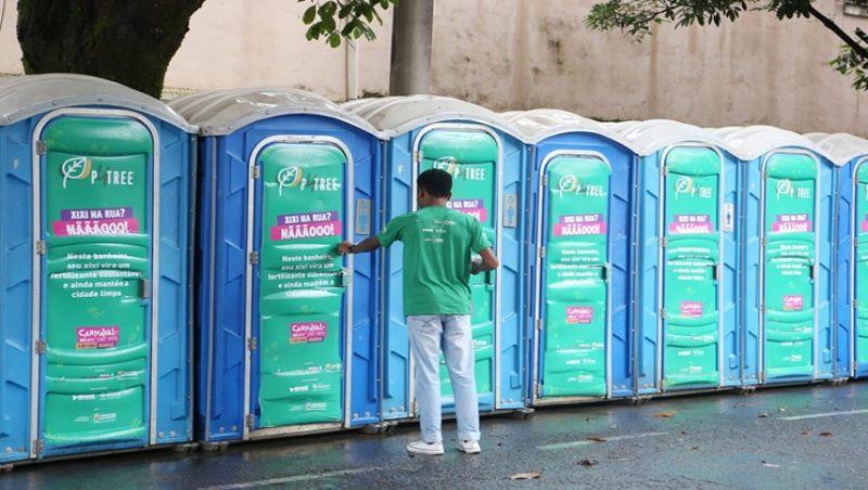 Urina de foliões do Carnaval de Belo Horizonte será transformada em adubo