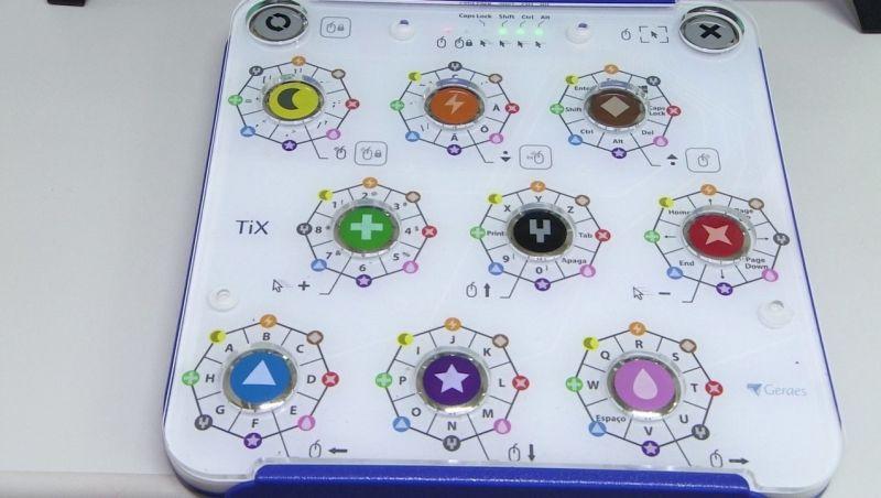 Startup desenvolve teclado para quem tem problema de coordenação motora