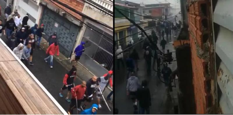 Briga entre torcedores do Corinthians e São Paulo tem 14 feridos