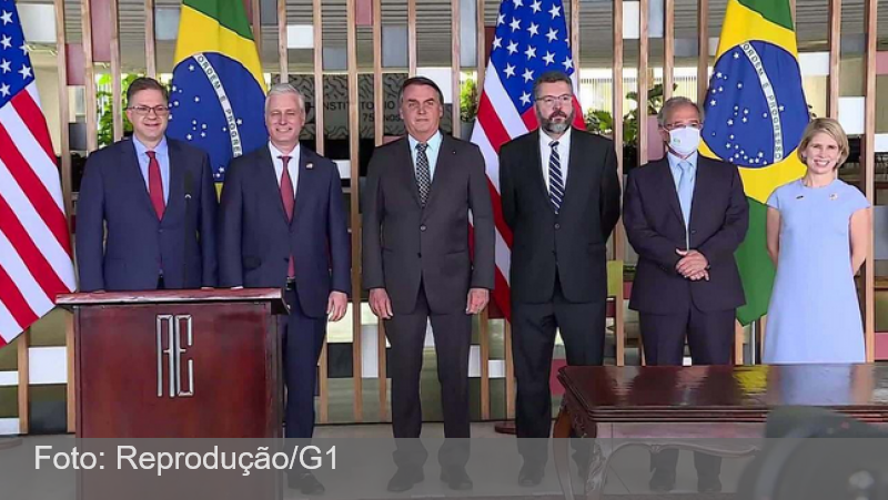 Acordo prevê crédito de US$ 1 bilhão dos EUA para financiar projetos no Brasil, incluindo 5G