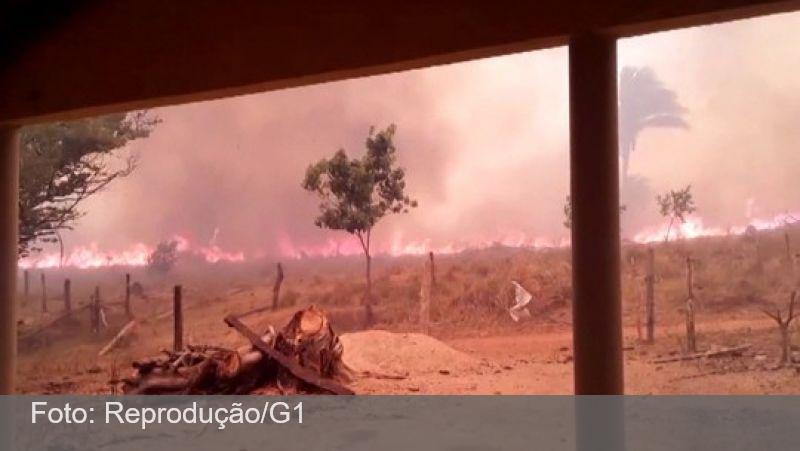 Tocantins supera Mato Grosso do Sul em nº de focos de incêndio