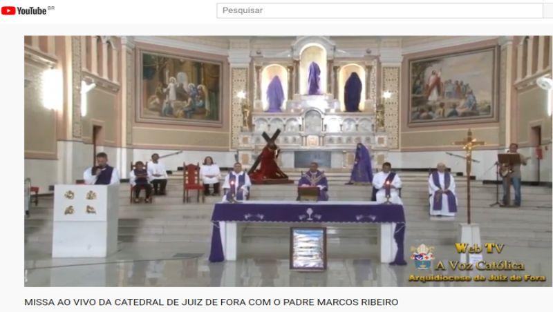 Com isolamento, Semana Santa tem missas transmitidas pela internet