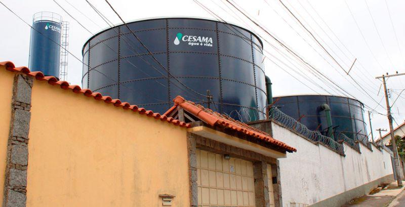 JF: Cesama interliga novo reservatório do Alto Bairu e região terá abastecimento afetado neste domingo
