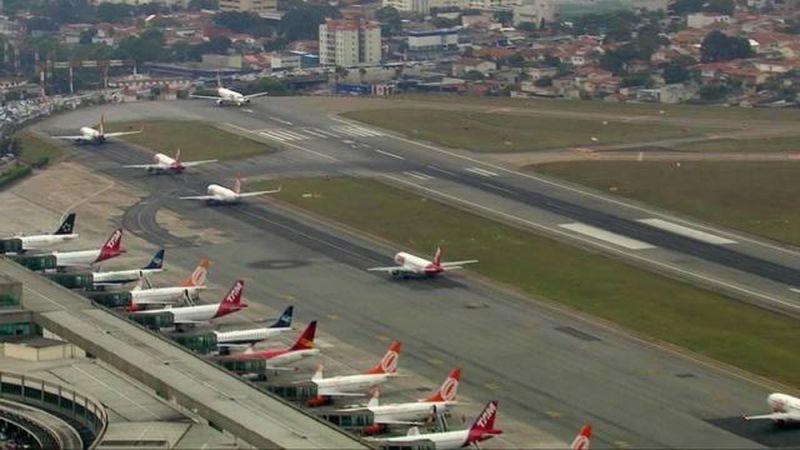 Voo irregular de drone paralisa aeroporto de Congonhas por 20 minutos