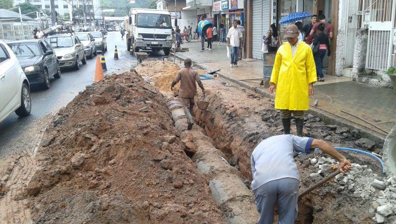 Secretaria de Obras de Juiz de Fora realiza diversas intervenções para melhorar escoamento da chuva