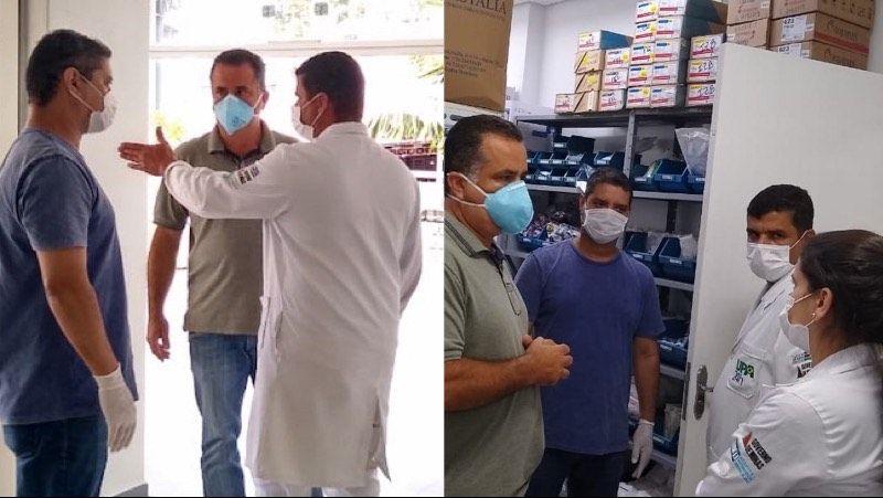 Vereadores de JF visitam UPA de Santa Luzia