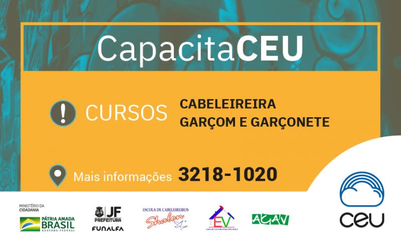 Praça CEU do Bairro Benfica lança cursos de capacitação profissional