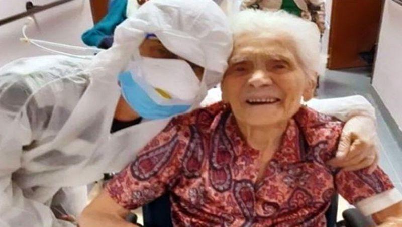 Idosa de 104 anos com covid-19 é a sobrevivente mais velha do mundo