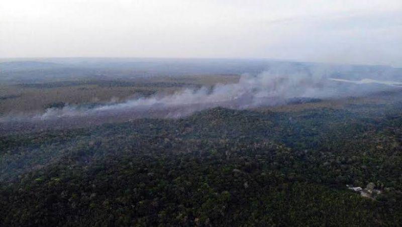Brigadistas são indiciados por incêndios em Alter do Chão