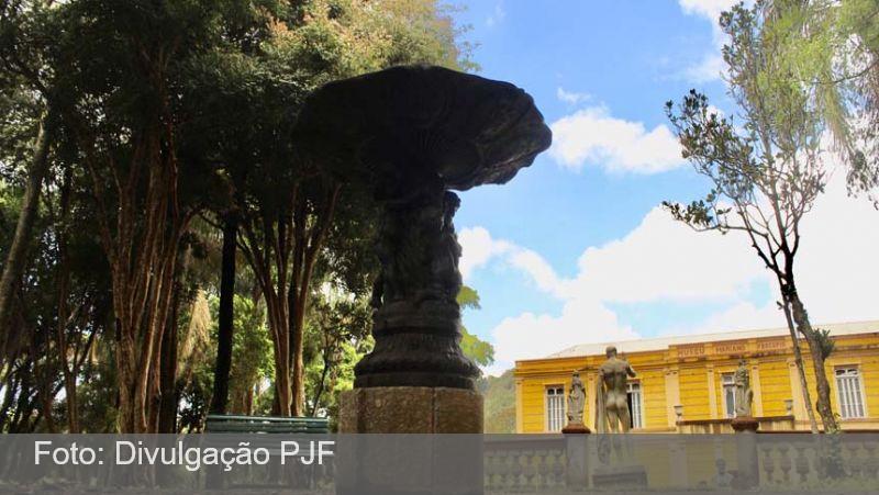 """JF: Museu Mariano Procópio dá início a obra de restauro e recomposição em chafariz da """"Escola Agrícola"""""""
