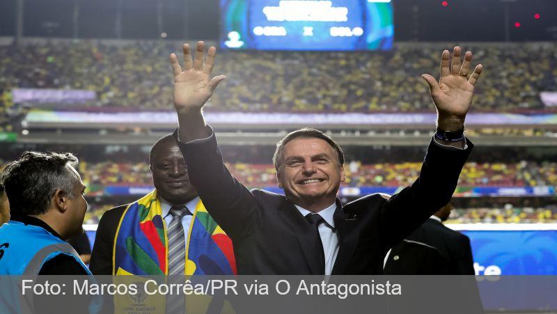 O Antagonista: Copa América traz nova variante do vírus para o Brasil