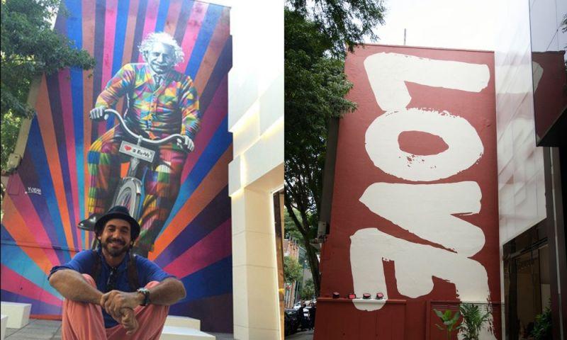Loja de SP substitui mural de Kobra na Rua Oscar Freire e causa polêmica nas redes sociais