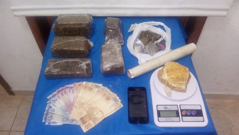 PM apreende menor por crime análogo ao tráfico de drogas em Juiz de Fora; ele tem mais de 40 registros semelhantes