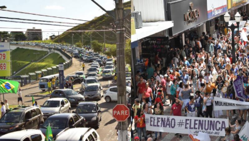 Atos pró e contra Bolsonaro movimentam fim de semana