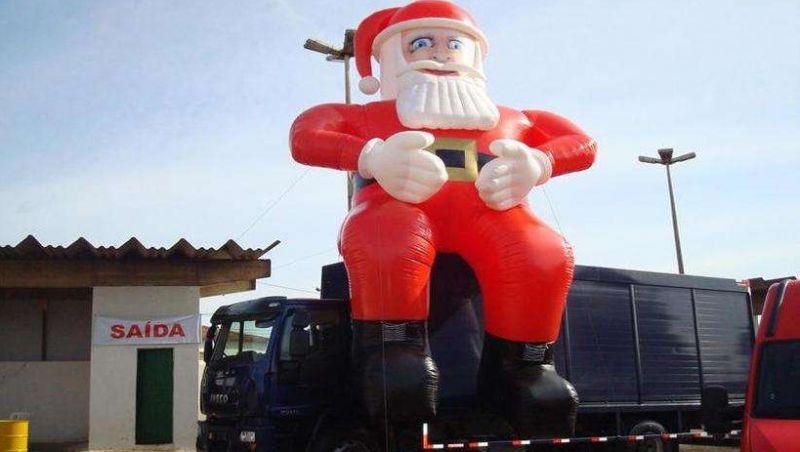 Depois de sumiço, Papai Noel reaparece na Grande BH