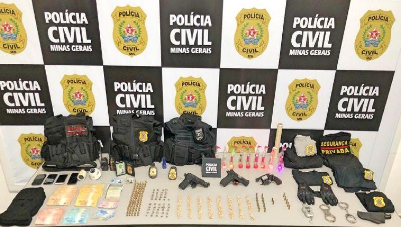 Presos homens que se passavam por Policiais Civis de Ubá