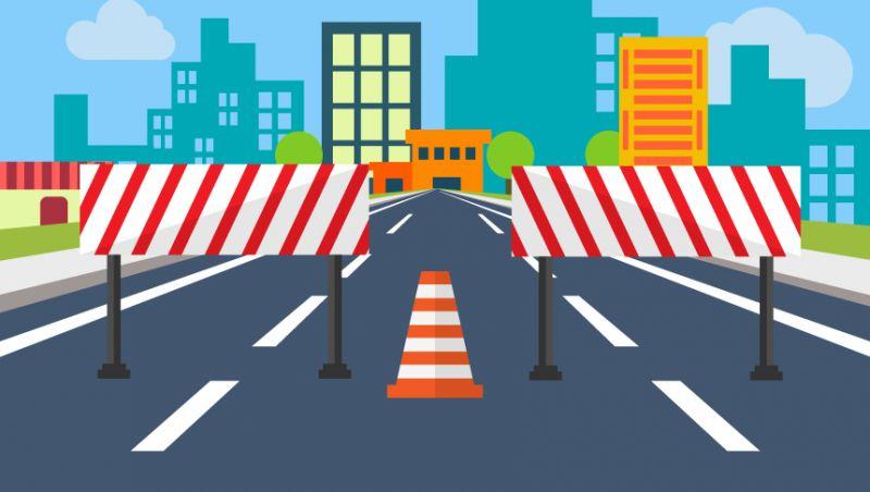 Settra interdita trânsito das regiões norte e oeste neste domingo