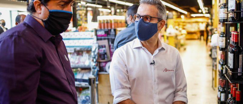 Romeu Zema participa de lançamento de linha de cafés especiais produzidos em Minas