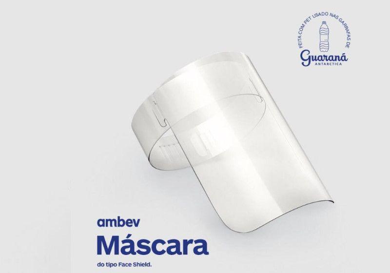 Ambev vai doar 3 milhões de máscaras de garrafa PET pra hospitais