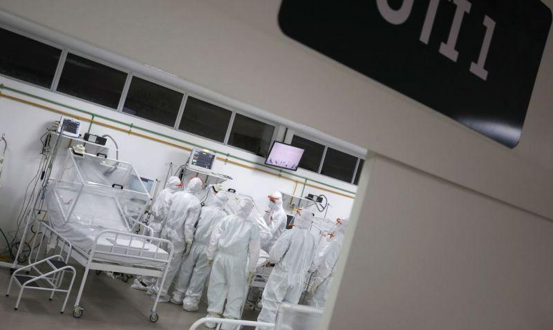 Taxa de ocupação de leitos de UTI na Grande São Paulo passa de 91%