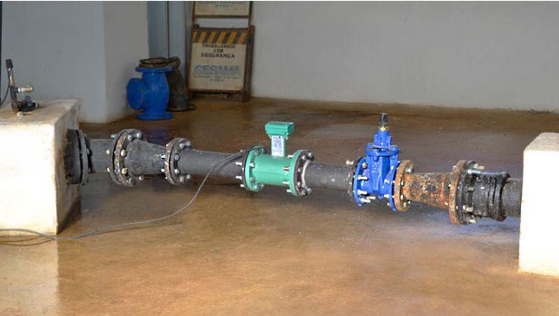 Instalação de macromedidor no Bairro Vila Ideal pode afetar abastecimento de água na região