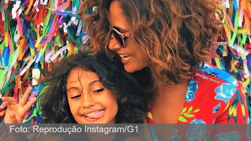 Camila Pitanga anuncia que ela e a filha estão curadas da malária