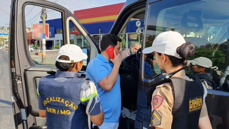 DEER/MG faz balanço do primeiro dia de fiscalização de transportes ilegais
